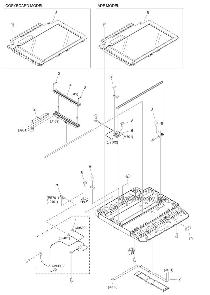 Parts Catalog > Canon > iR1133 > page 12