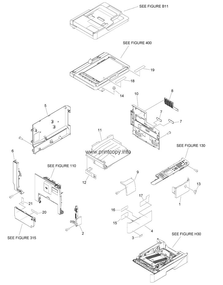 Parts Catalog > Canon > iR1435 > page 3