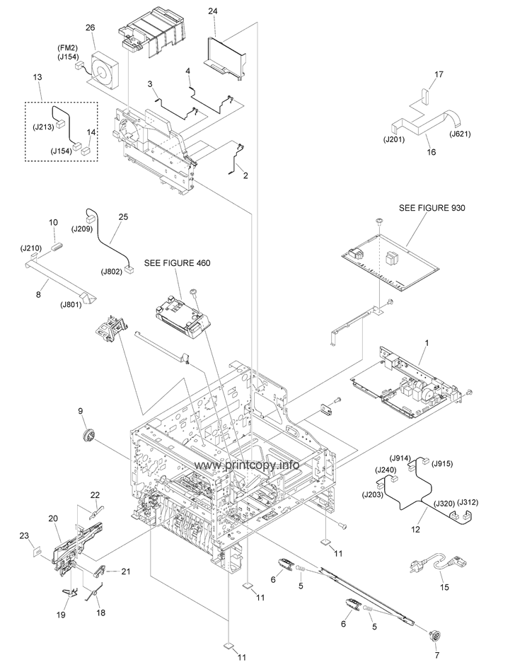 Parts Catalog > Canon > iR1435 > page 9
