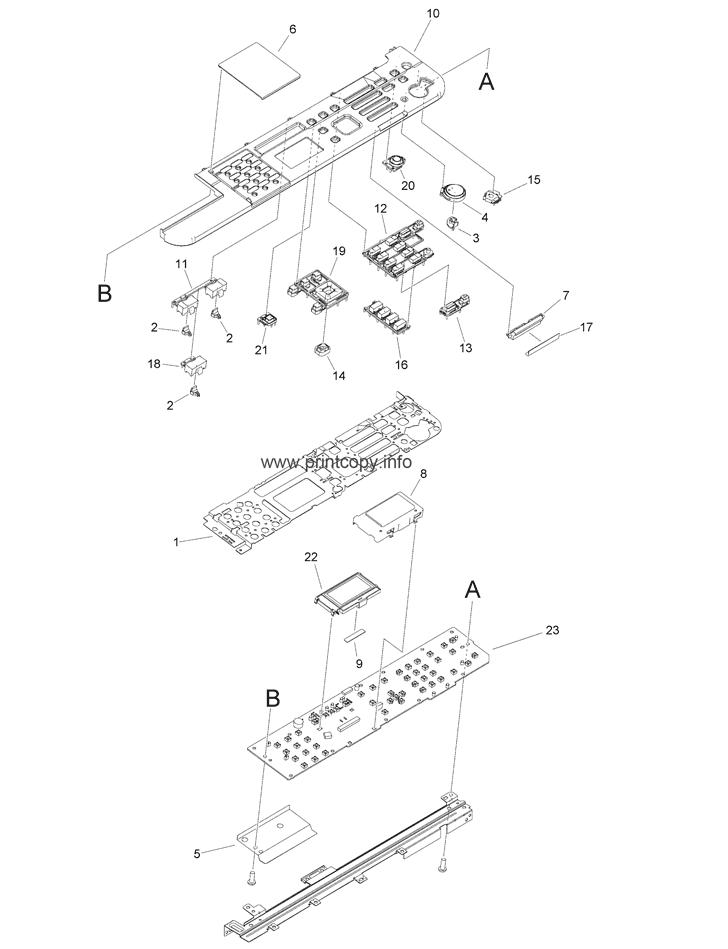 Parts Catalog > Canon > iR1435 > page 18