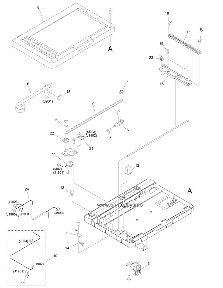 Parts Catalog > Canon > iR1435 > page 34