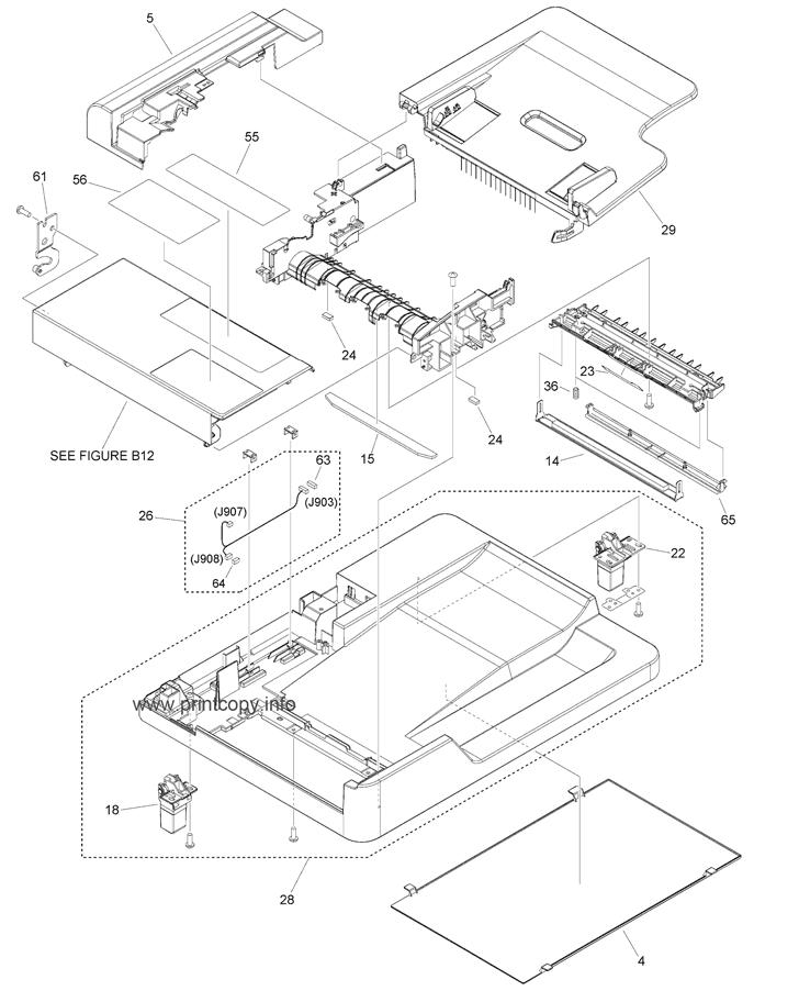 Parts Catalog > Canon > iR1435 > page 45