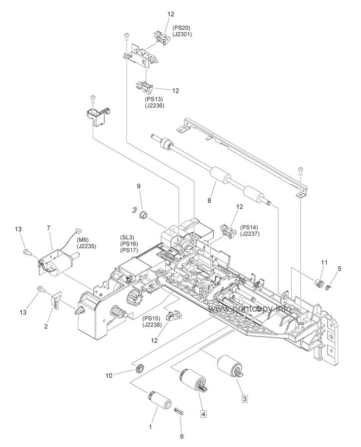 Parts Catalog > Canon > iR1730i > page 11
