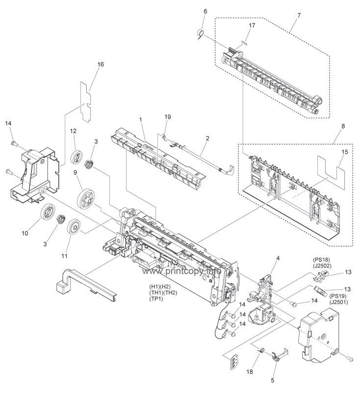 Parts Catalog > Canon > iR1730 > page 21