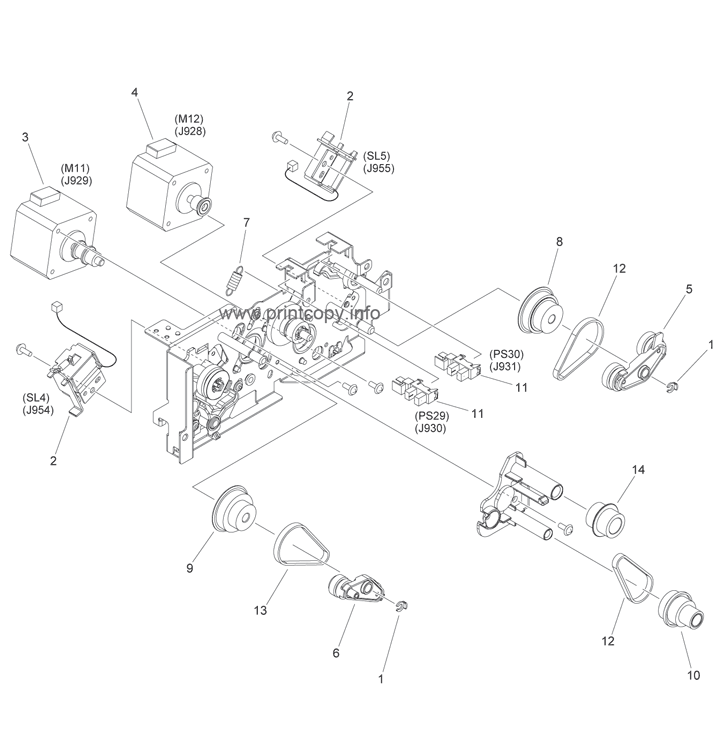 Parts Catalog > Canon > iR1730i > page 29