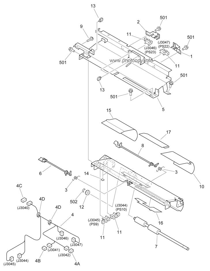 Parts Catalog > Canon > iR3300 > page 23