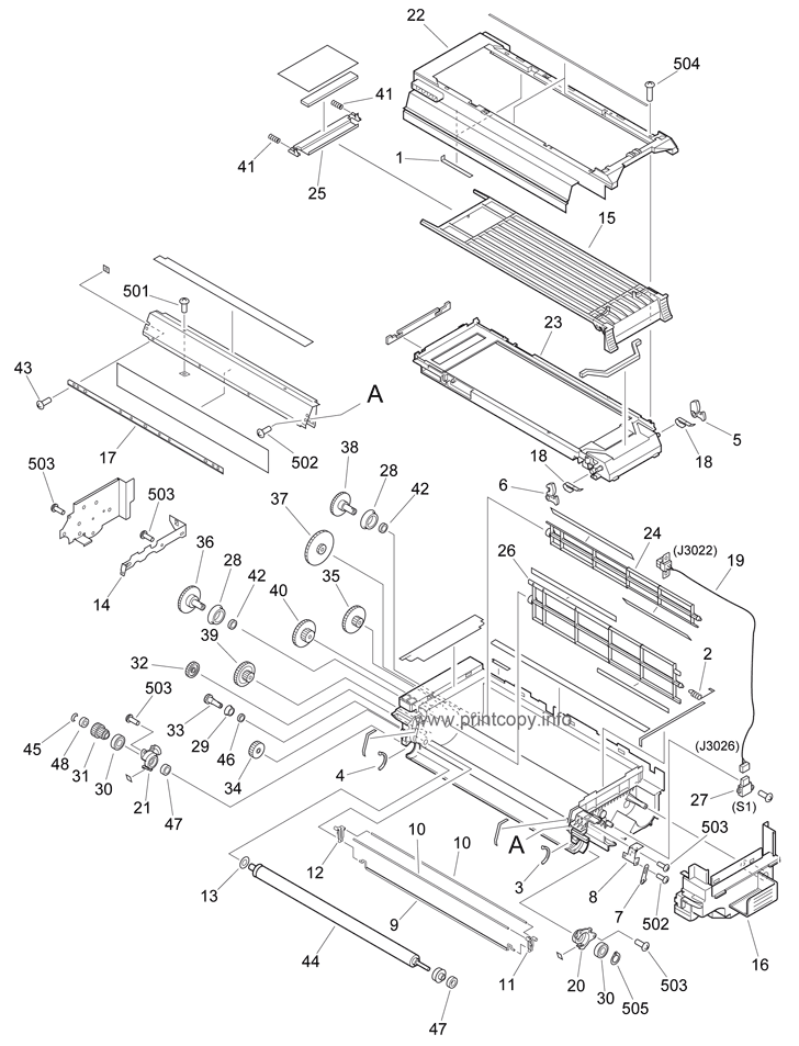Parts Catalog > Canon > iR2220N > page 30