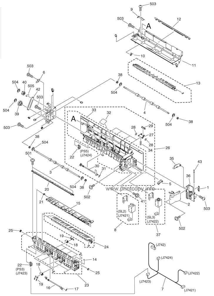 Parts Catalog > Canon > iR3570 > page 37