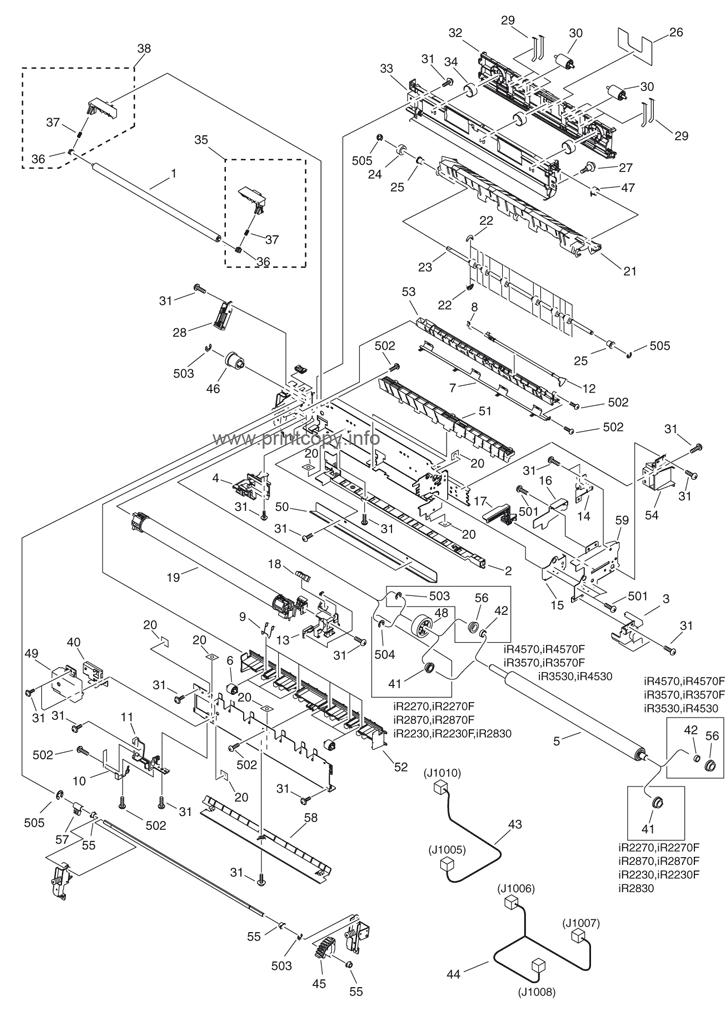 Parts Catalog > Canon > iR4570 > page 42