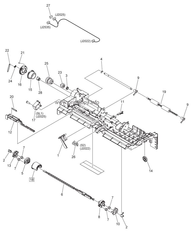 Parts Catalog > Canon > iR2525 > page 29
