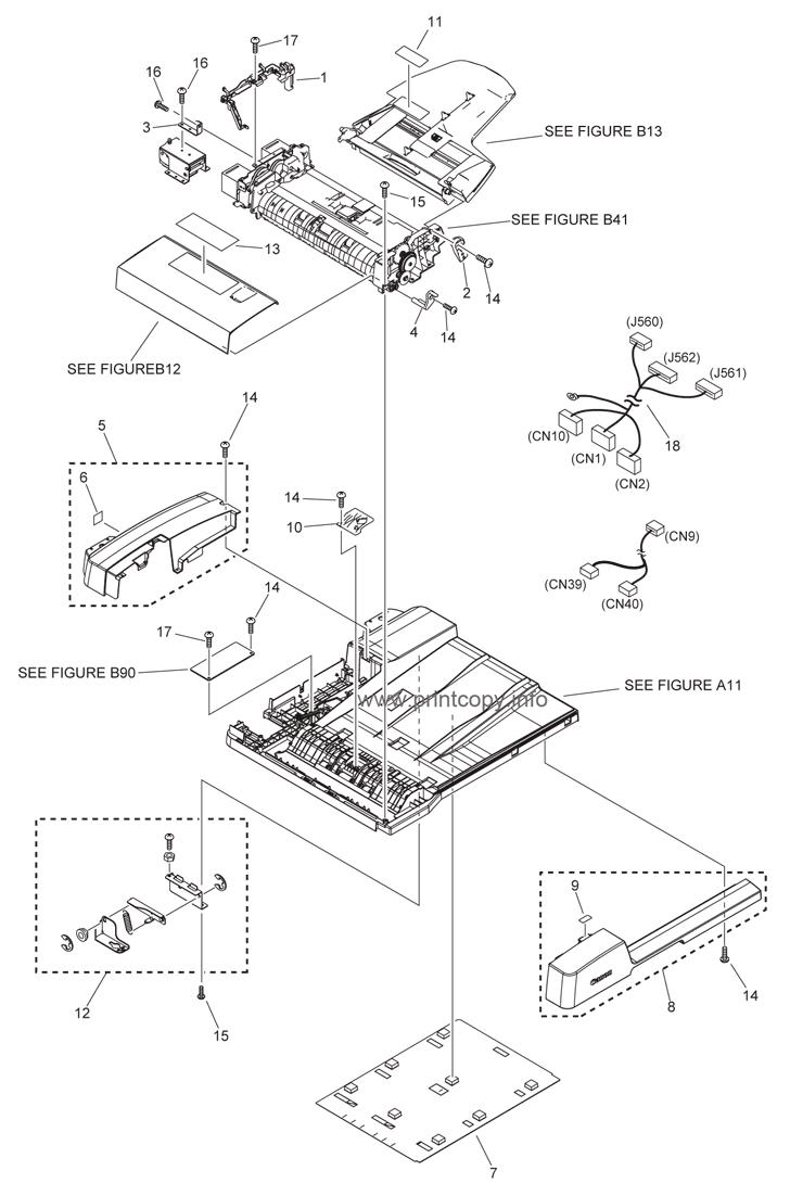 Parts Catalog > Canon > iR2545 > page 61