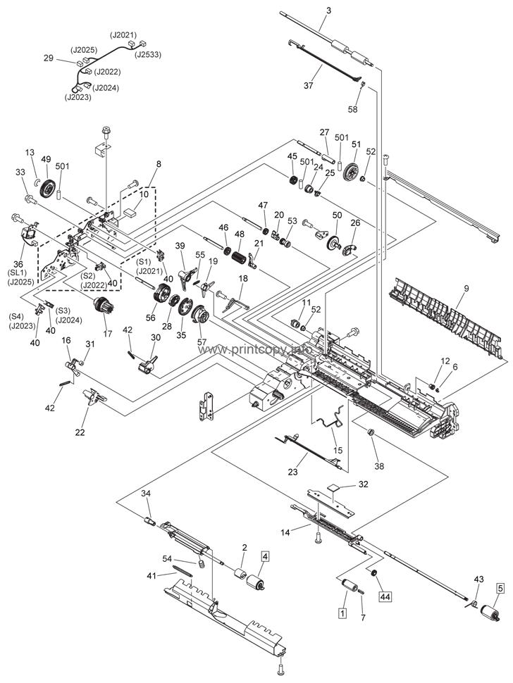 Parts Catalog > Canon > iR2520 > page 71