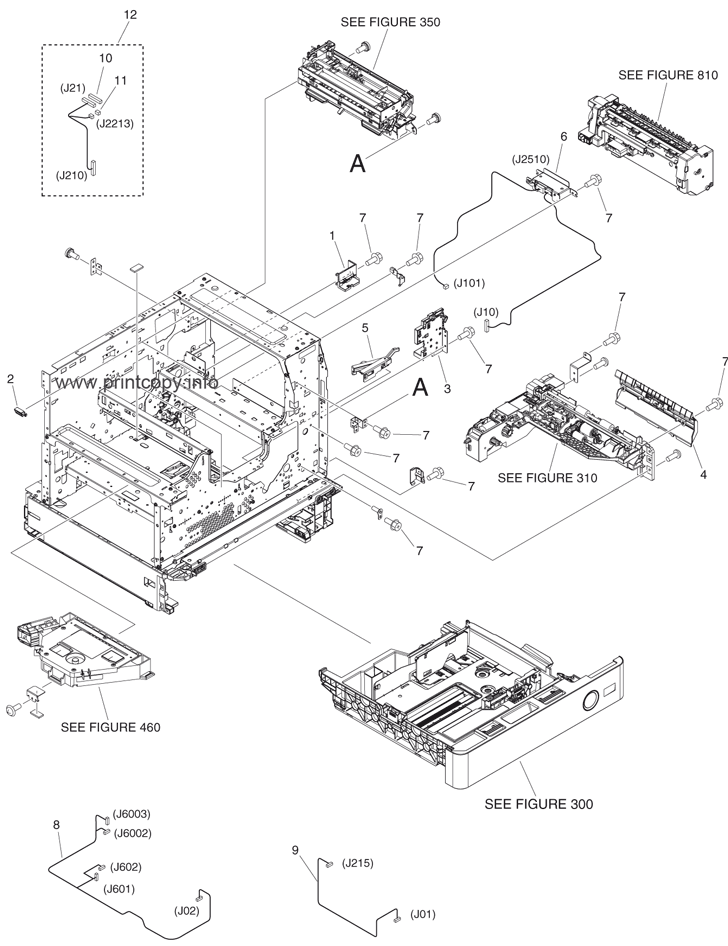 Parts Catalog > Canon > iR Advance 400i > page 3