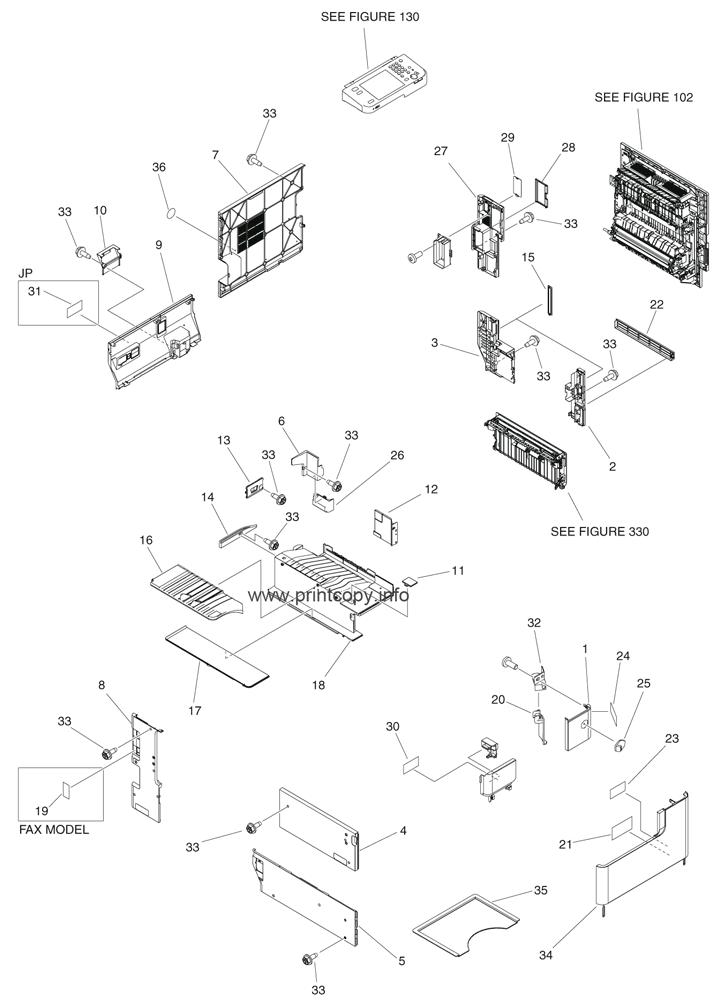 Parts Catalog > Canon > iR Advance 4045 > page 1