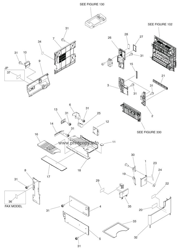Parts Catalog > Canon > iR Advance 4235 > page 1