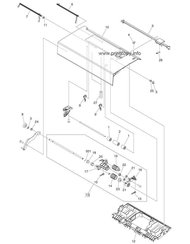 Parts Catalog > Canon > iR Advance 4251i > page 49