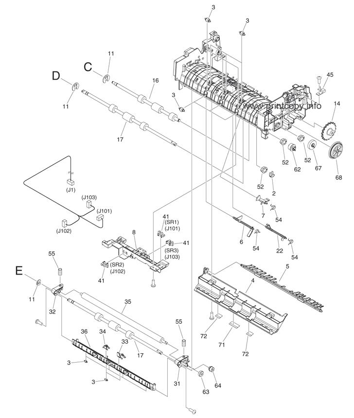 Parts Catalog > Canon > iR Advance 4225F > page 53