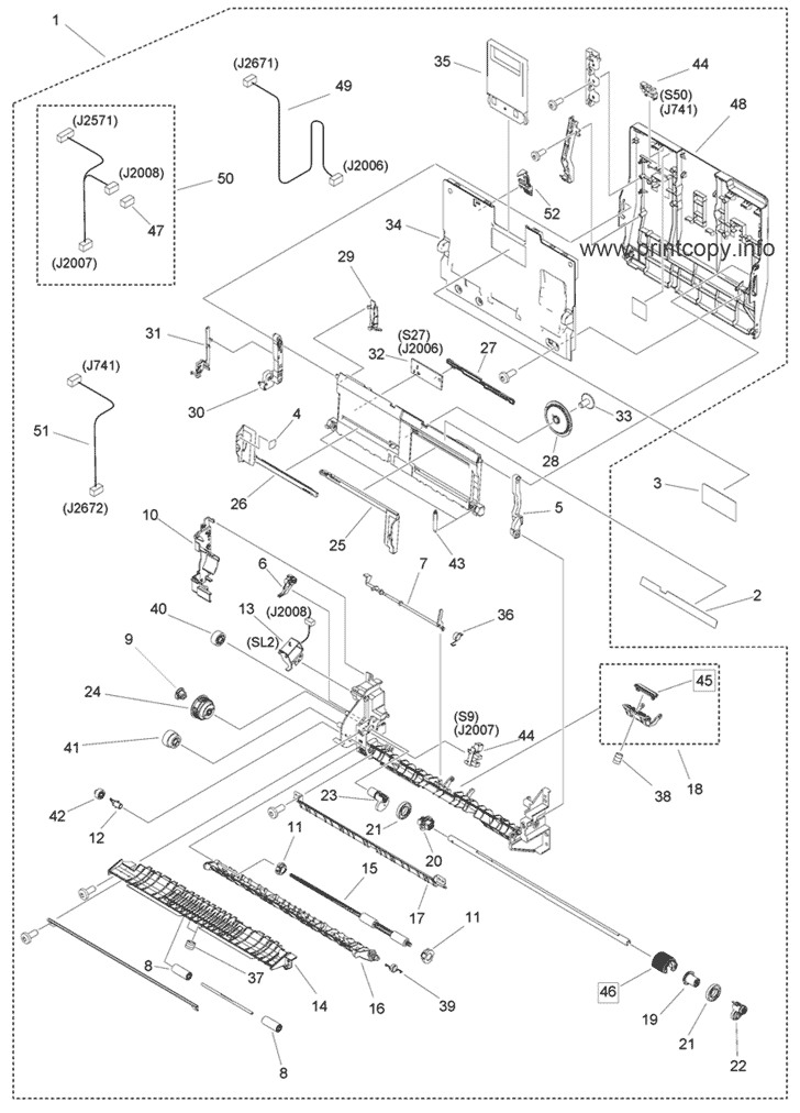 Parts Catalog > Canon > iR Advance 4551i > page 37