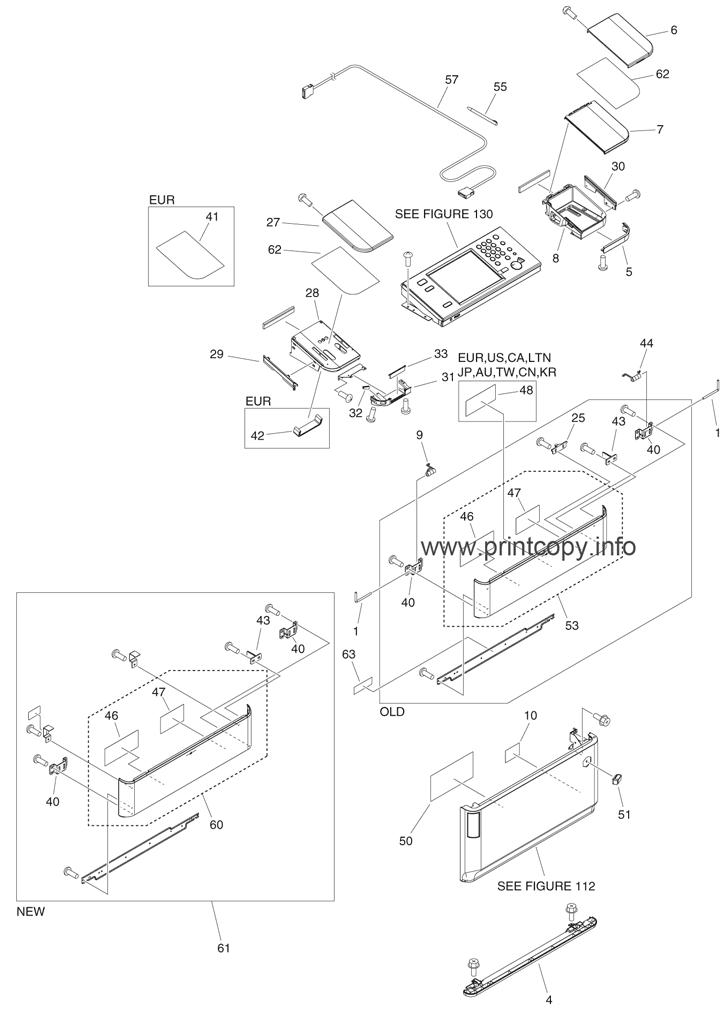 Parts Catalog > Canon > iR Advance 6075 > page 1