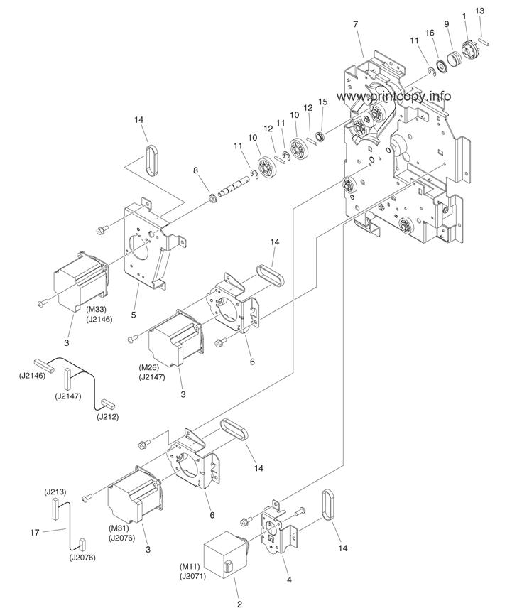 Parts Catalog > Canon > iR Advance 6055 > page 20