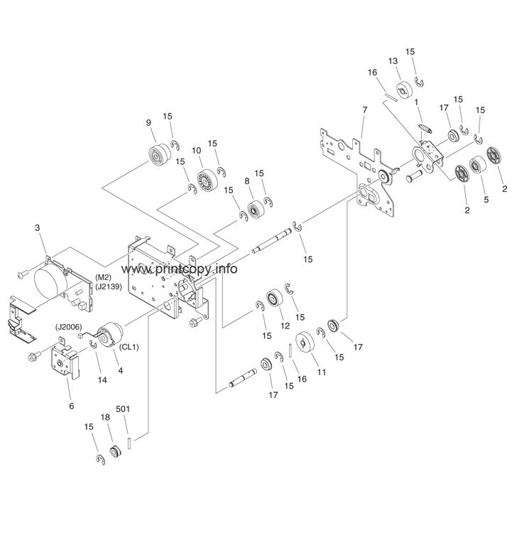 Parts Catalog > Canon > iR Advance 6055 > page 24