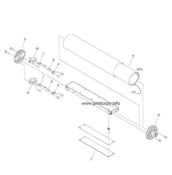 Parts Catalog > Canon > iR Advance 6055 > page 53