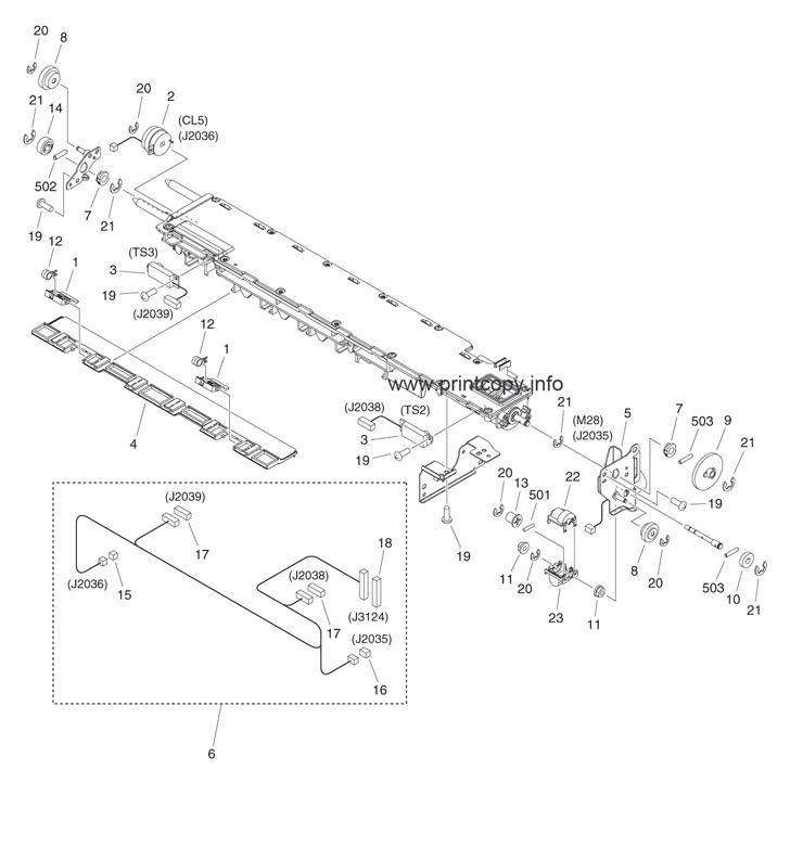 Parts Catalog > Canon > iR Advance 6055 > page 58