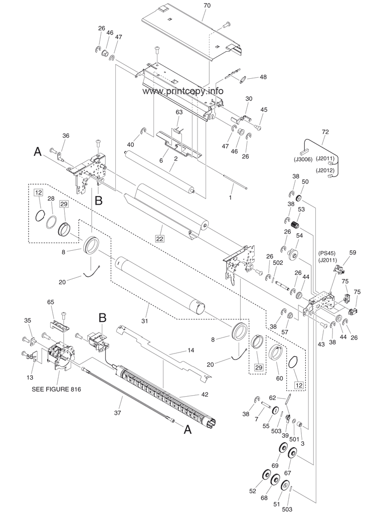 Parts Catalog > Canon > iR Advance 6055i > page 67