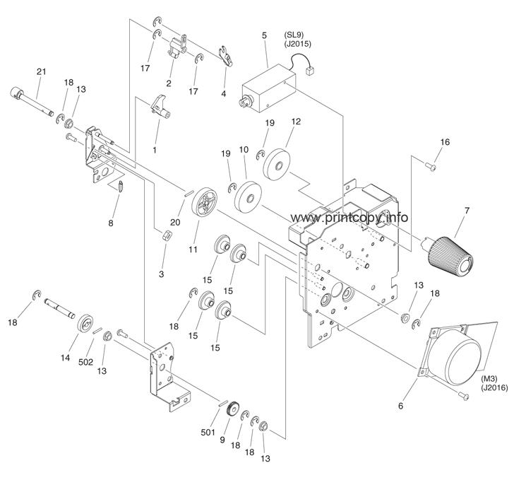 Parts Catalog > Canon > iR Advance 6075 > page 69
