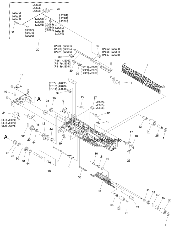 Parts Catalog > Canon > iR Advance 6275i > page 32
