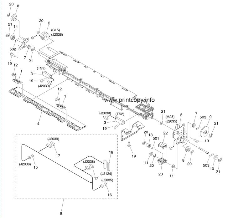 Parts Catalog > Canon > iR Advance 6265i > page 57