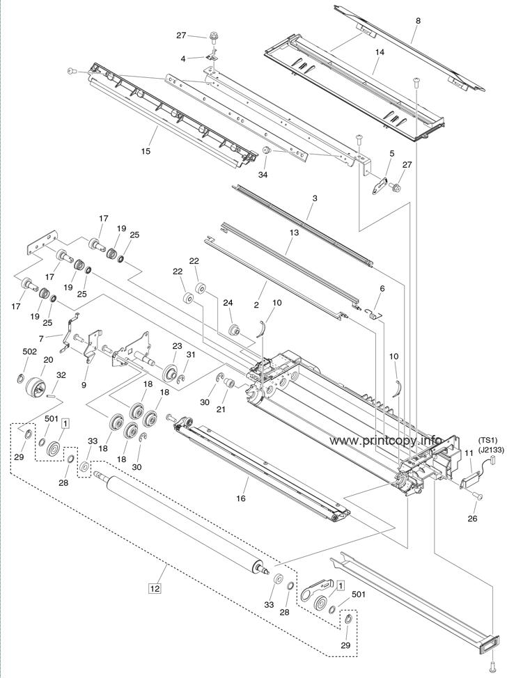 Parts Catalog > Canon > iR Advance 6265i > page 58