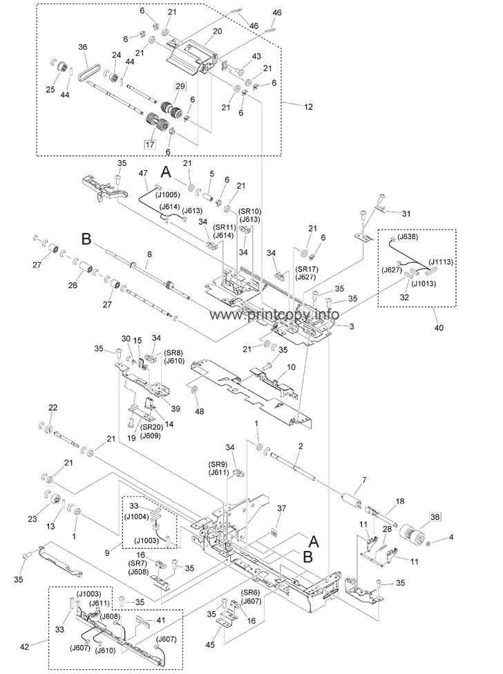 Parts Catalog > Canon > iR Advance 6575 > page 110