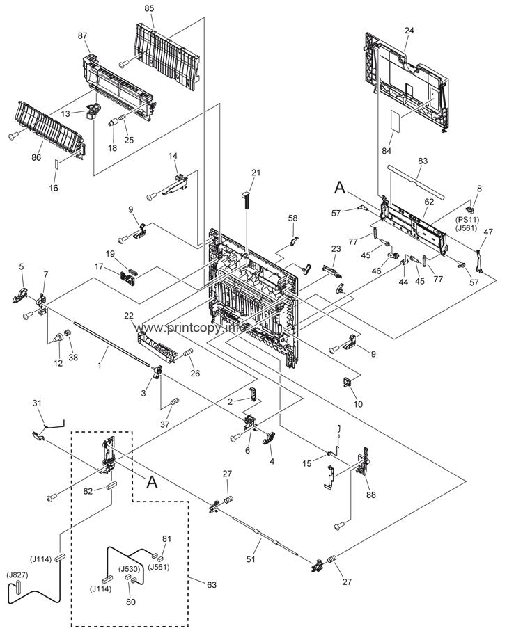 Parts Catalog > Canon > iR Advance C2020i > page 3