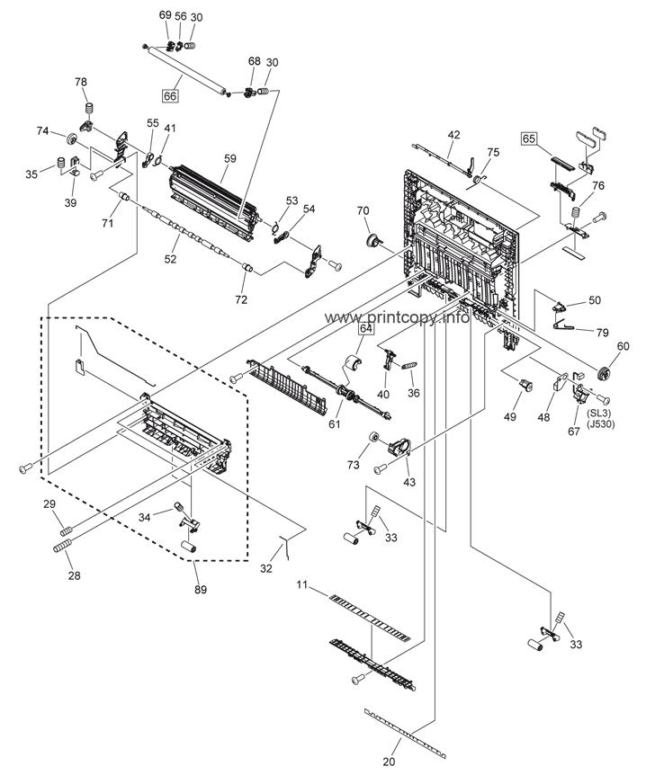 Parts Catalog > Canon > iR Advance C2020i > page 4