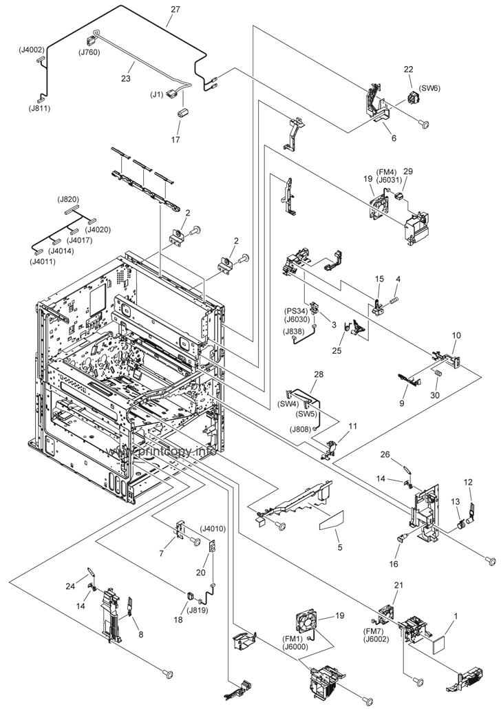 Parts Catalog > Canon > iR Advance C2030 > page 5