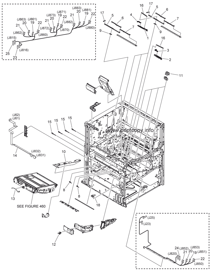 Parts Catalog > Canon > iR Advance C2020i > page 8
