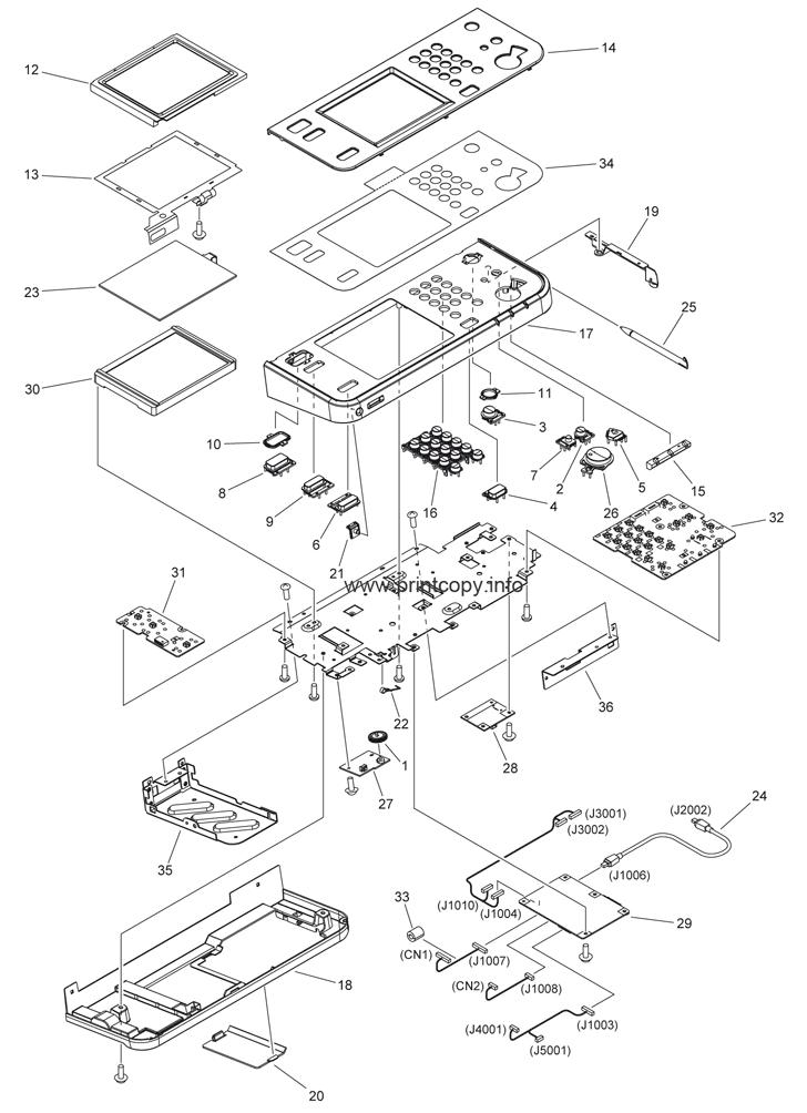 Parts Catalog > Canon > iR Advance C2020i > page 13