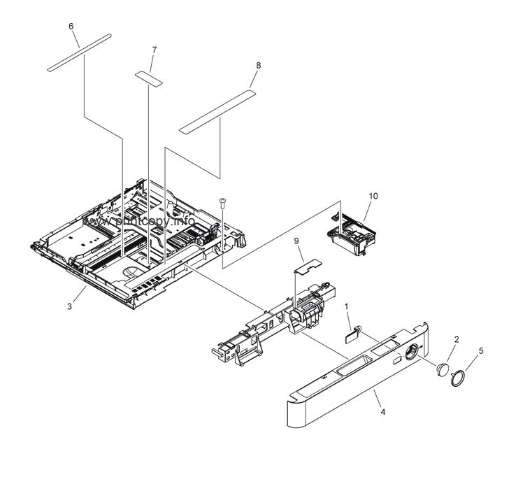 Parts Catalog > Canon > iR Advance C2020i > page 16
