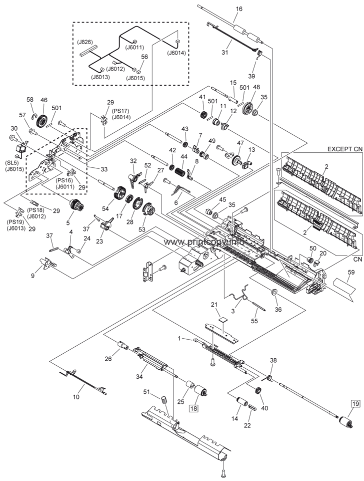 Parts Catalog > Canon > iR Advance C2020i > page 19
