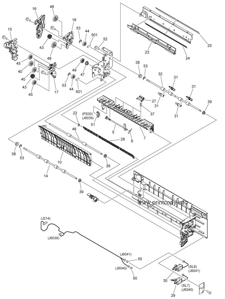 Parts Catalog > Canon > iR Advance C2020i > page 24