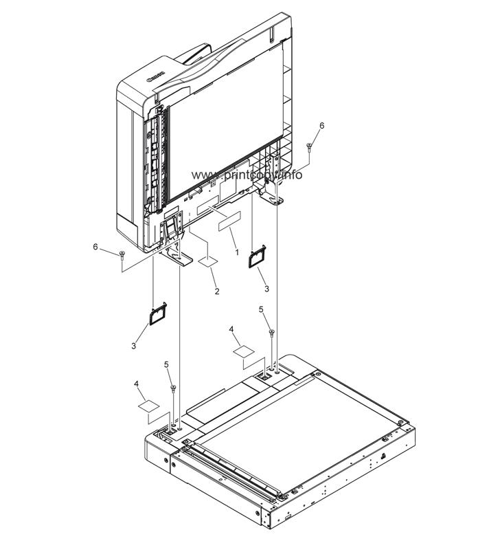 Parts Catalog > Canon > iR Advance C2020i > page 33