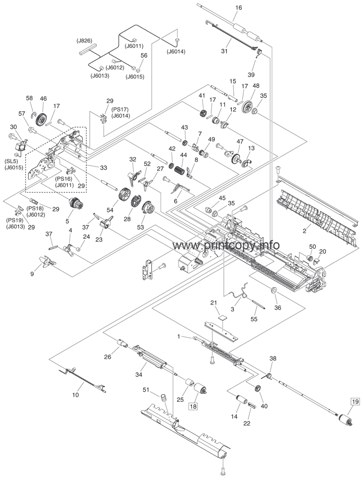 Parts Catalog > Canon > iR Advance C2220 > page 26