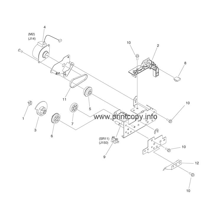 Parts Catalog > Canon > iR Advance C2230 > page 44