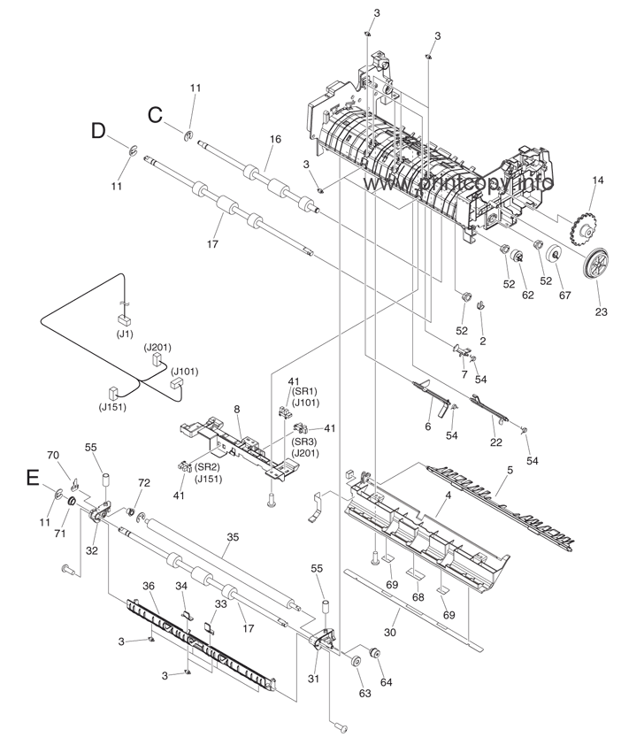 Parts Catalog > Canon > iR Advance C2230 > page 46