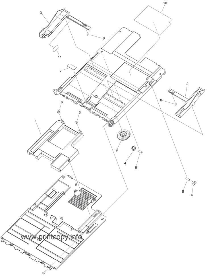 Parts Catalog > Canon > iR Advance C350i > page 23
