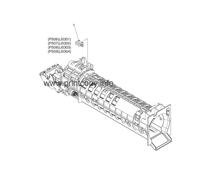 Parts Catalog > Canon > iR Advance C350i > page 29