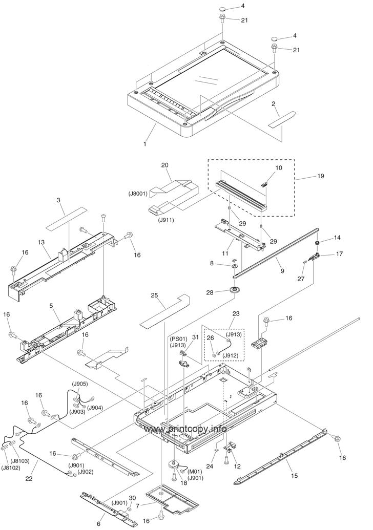 Parts Catalog > Canon > iR Advance C250 > page 43