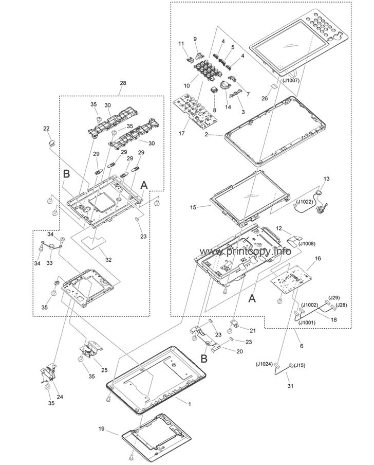 Parts Catalog > Canon > iR Advance C355i > page 19