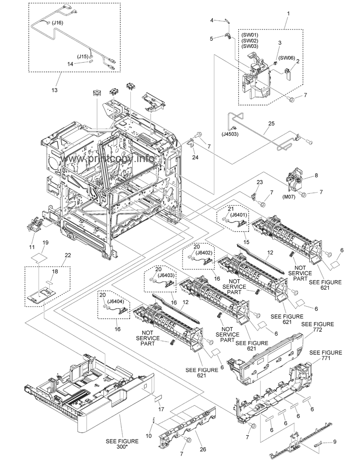 Parts Catalog > Canon > iR Advance C356iF II > page 6